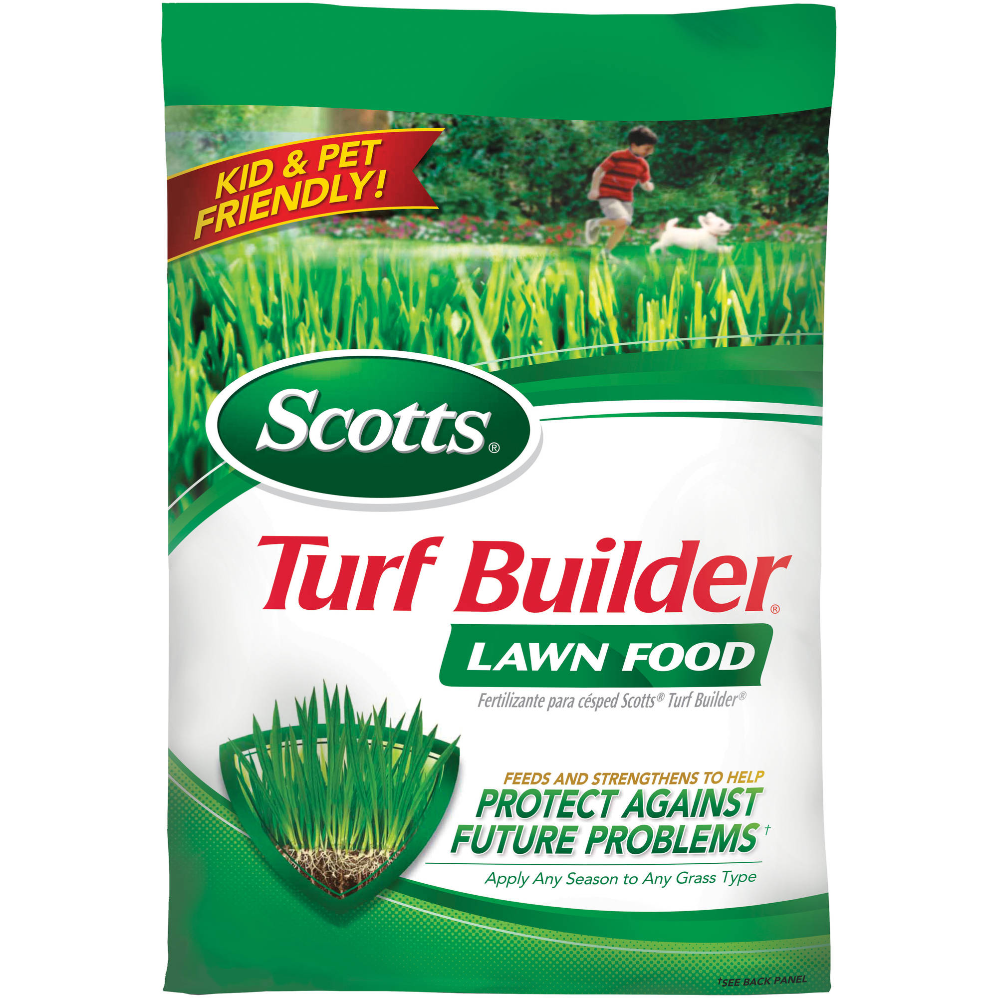Scotts Turf Builder Lawn Food, 5,000 sq ft