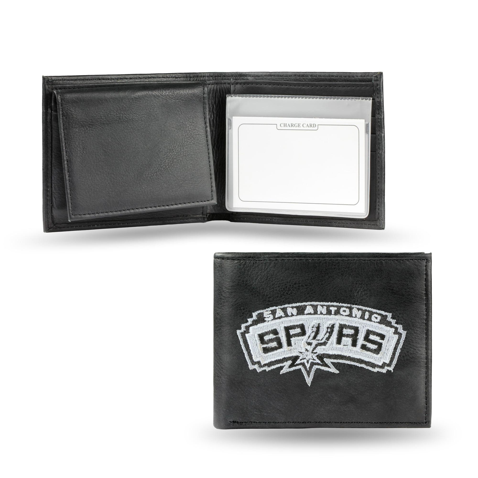 NBA - Men's San Antonio Spurs Embroidered Billfold Wallet