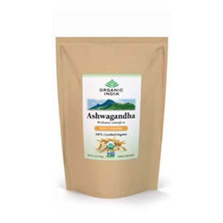 ORGANIC INDIA - Bulk Herb Ashwaghandha Root Powder - 1 Lbs. (454 g)