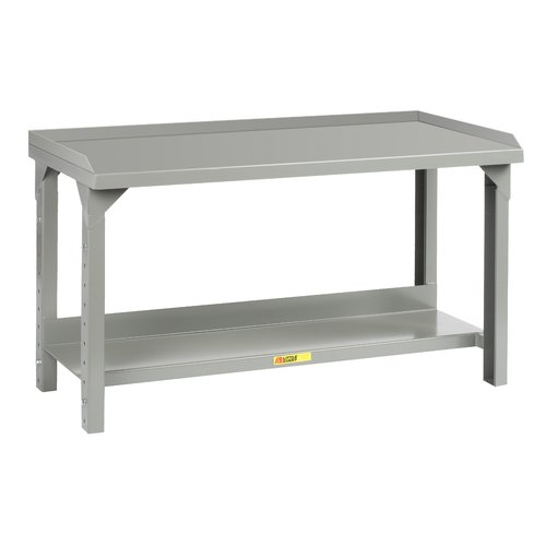 Little Giant USA Welded Adjustable Height Steel Top Workbench by Little Giant USA