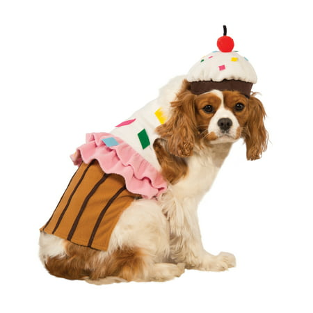 Cupcake Cake Pet Food Dessert Funny Dog Cat Halloween Costume - Dog Halloween Costumes Pinterest