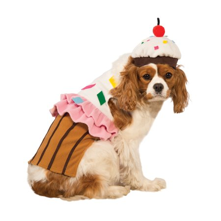 Halloween Dogs Funny (Cupcake Cake Pet Food Dessert Funny Dog Cat Halloween)