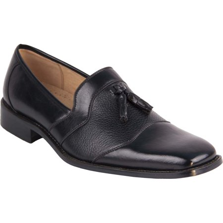 Men's Dress Shoes Coronado Ebsen Slip On Loafer Oxford Style Leather Lining Black 9
