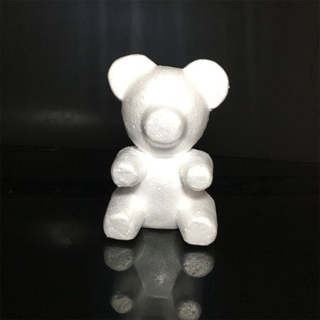 White Foam Bear Molding DIY Toy for Valentine's Day Party Wedding Decoration - Vintage Valentine Decorations