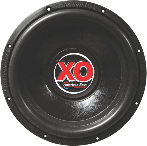 "American Bass XO-1544 15"" 1,000 Watts Max Power Dual 4 Ohm Car Subwoofer"