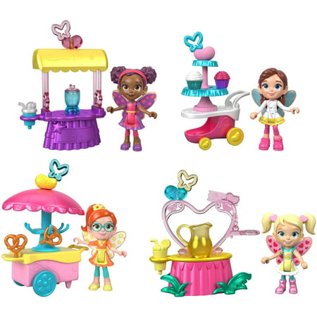 Fisher-Price Butterbeans Cafe Fairy Friends Food Cart Giftset
