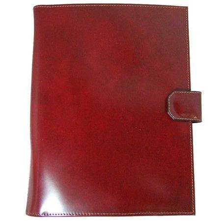 Pratesi Unisex Italian Leather Sarto R A4 Portfolio Notepad Holder Cow