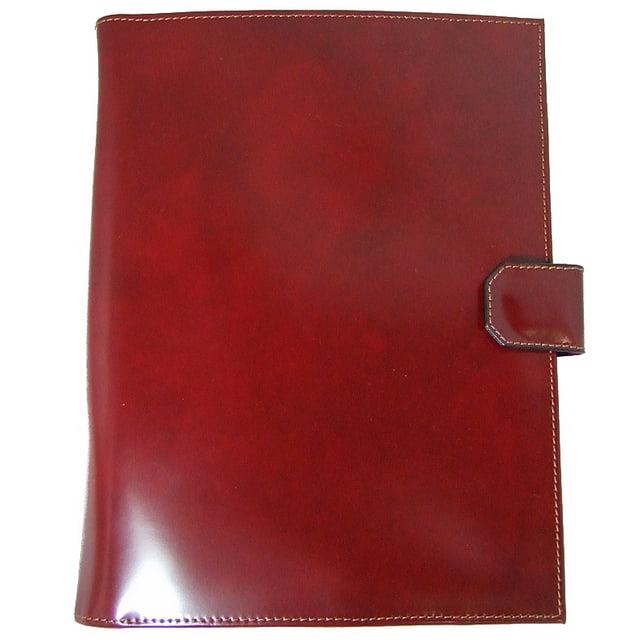 Pratesi Unisex Italian Leather Sarto R A4 Portfolio Notepad Holder Cow Leather