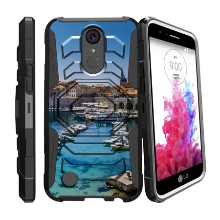 the latest 04c9c 76e60 Case for LG K20 | LG K20 Plus | LG K10 2017 Only [ Armor Reloaded ] Heavy  Duty Case with Belt Clip & Kickstand City Travel Series