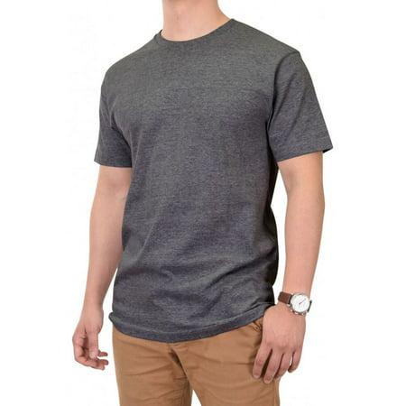 Blank Apparel - Knocker Men's 100% Cotton Crew Neck Short Sleeve Blank Tee T-Shirt