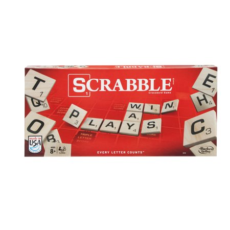 Classic Scrabble Crossword Board Game for Ages 8 and