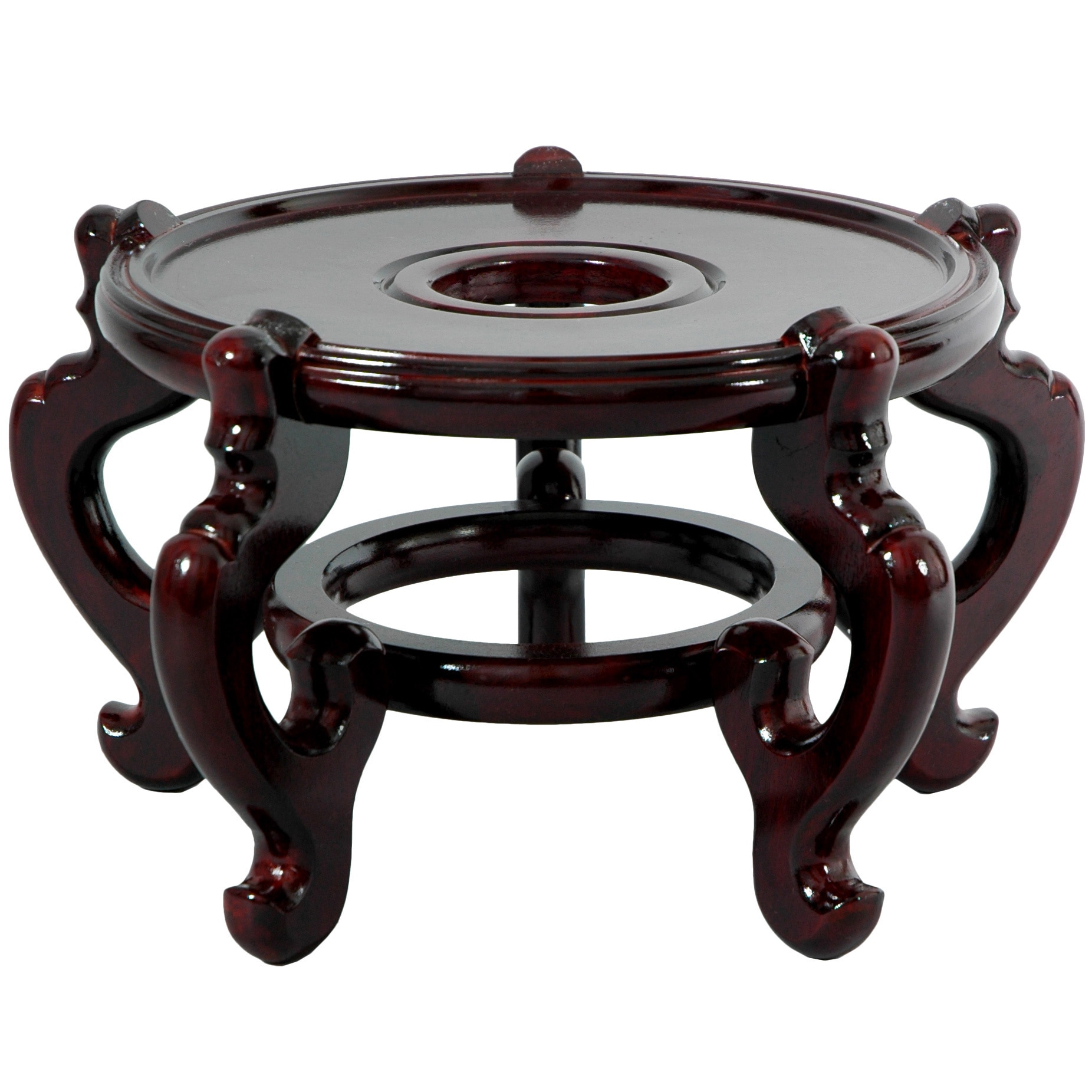 Oriental Home Handmade Large Five-leg Fishbowl Stand (China)