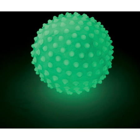 Edushape Glow in the Dark Sensory Ball, - Glow In The Dark Bouncy Balls