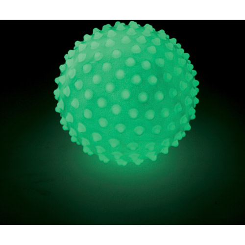 Edushape Glow in the Dark Sensory Ball, 7""