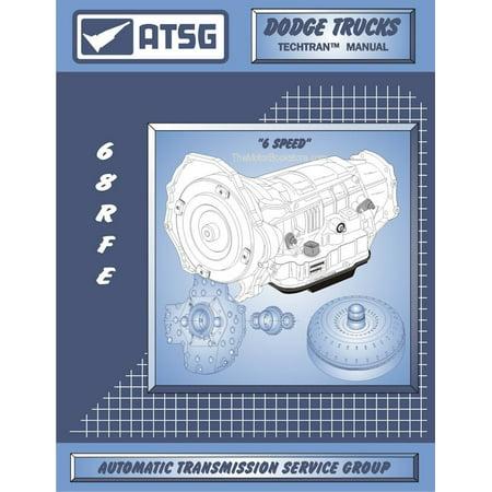 Dodge Ram Trucks 68RFE Transmision Rebuild Manual 2006 & Up