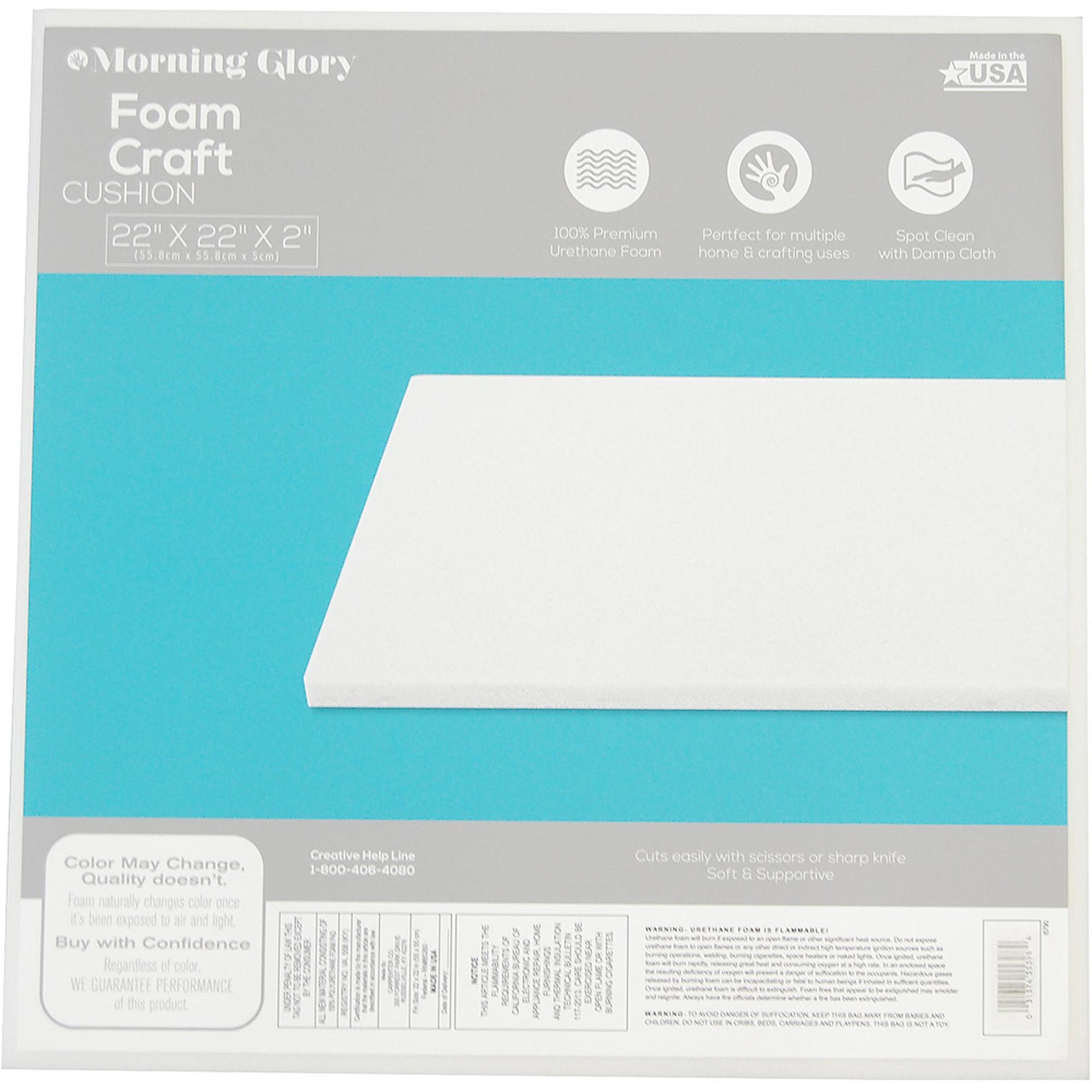 Morning Glory 22 X 22 X 2 Regular Density Foam Cushion Walmart Com
