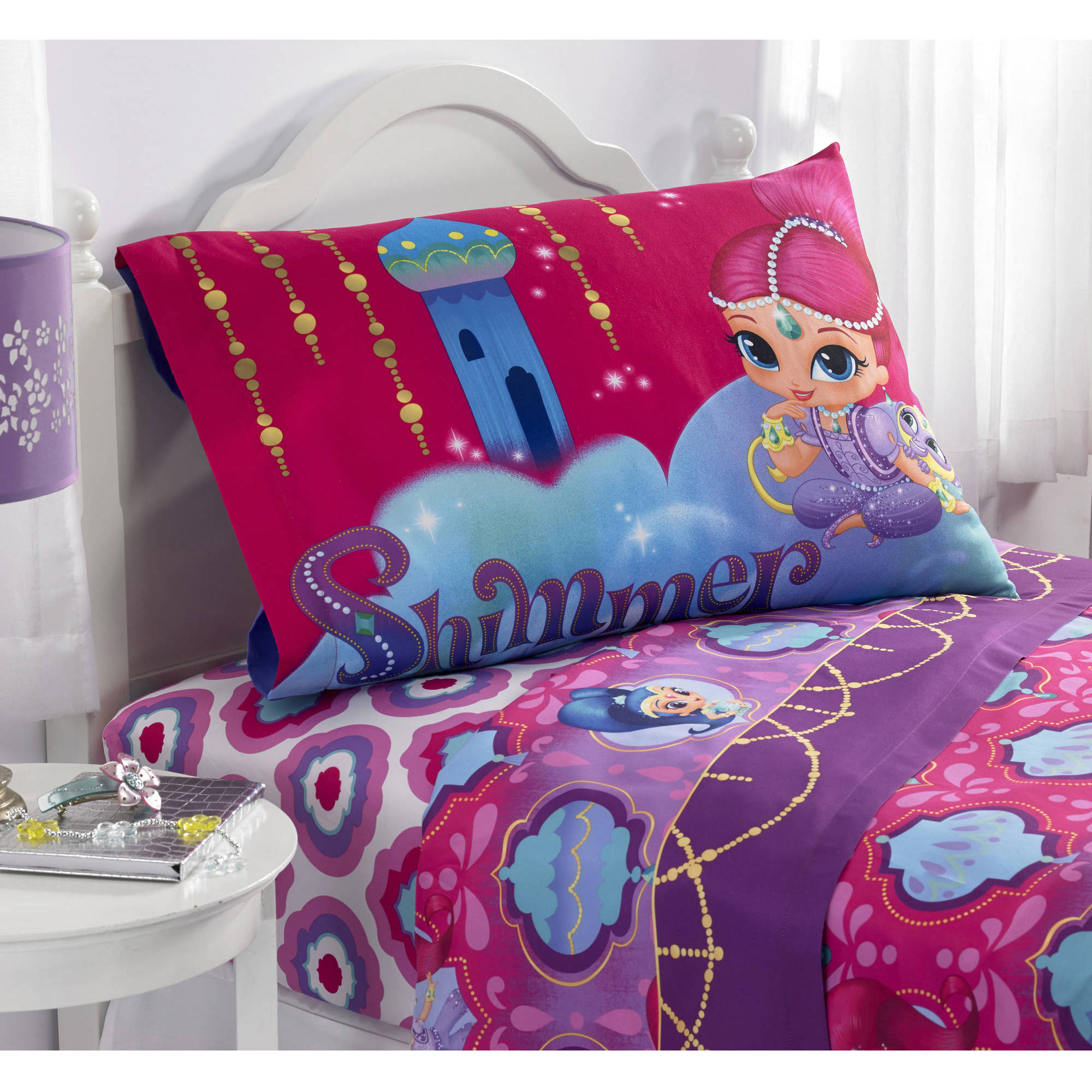 Nickelodeon Shimmer And Shine Magic Wonders Twin Sheet Set 3