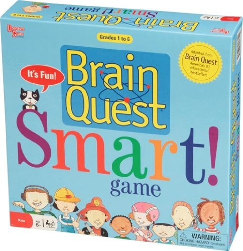 Brain Quest Smart Game, USA, Brand University Games by