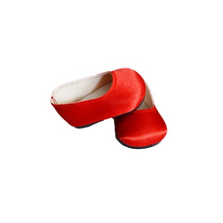 MY BRITTANY'S RED BOW SHOES FOR AMERICAN GIRL DOLLS (American Girl Doll Shoes Red)