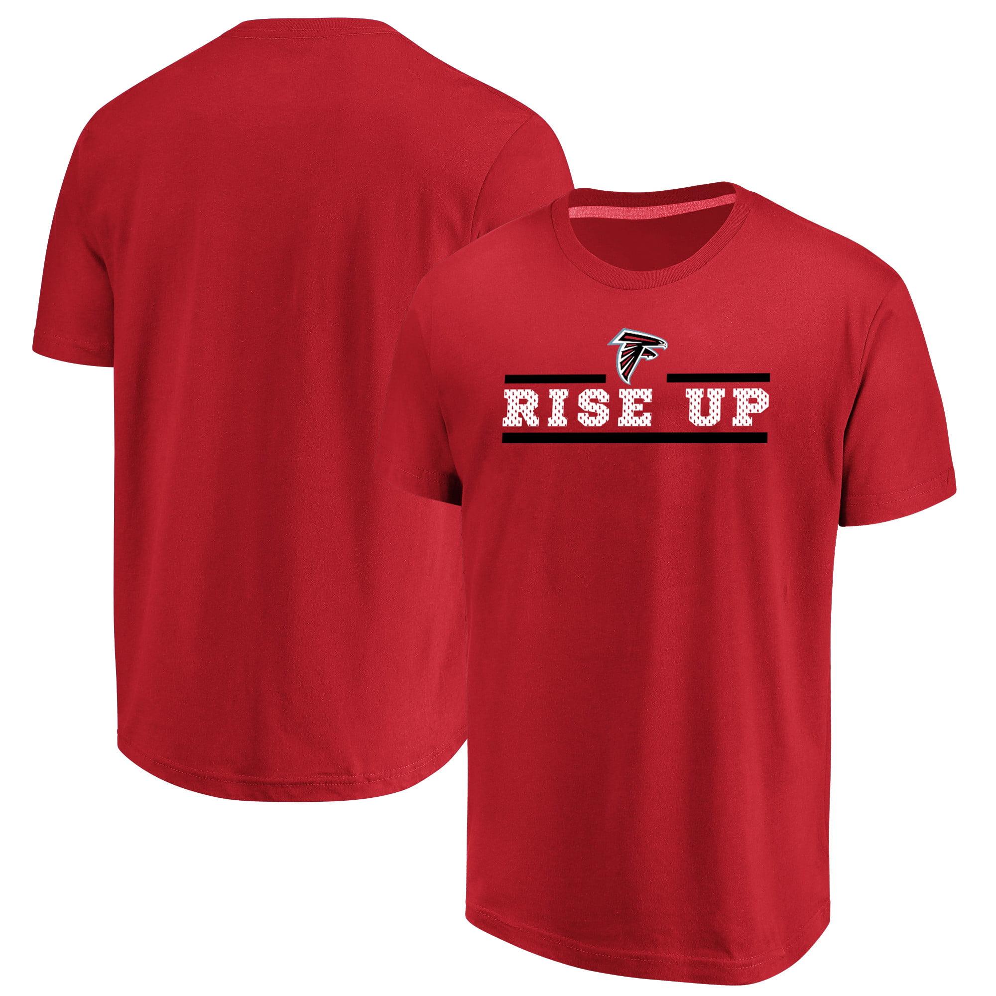 Atlanta Falcons Majestic Safety Blitz T-Shirt - Red