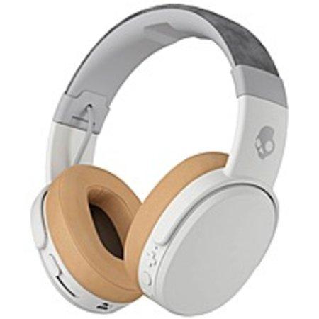 590 Bluetooth - Refurbished Skullcandy Crusher Wireless Headphone - Stereo - Tan, Gray - Wireless - Bluetooth - Over-the-head - Binaural - Circumaural