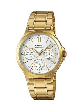 2cb54be90 Free shipping. Product Image LTP-V300G-7A Women's Standard Gold Tone  Multifunction White Dial Watch. Casio