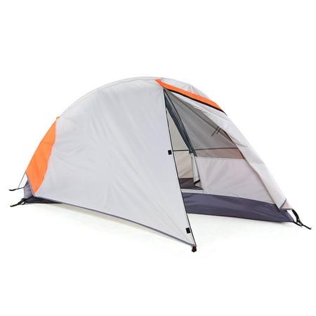 Free-standing Camping Tent Hiking Climbing Sleeping Tent Sunlight Shelter Detachable Single Camping Cabana Waterproof Outdoor Sleeping Tent