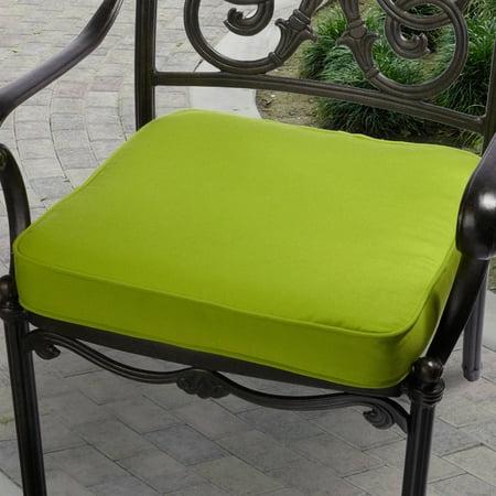 Chair Cushion Dupione (Mozaic Company Sunbrella Corded Indoor/Outdoor Chair Cushion)