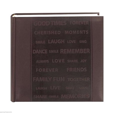 - Pioneer Photo Album - Faux Leather - 4 in x 6 in - 200 Photos