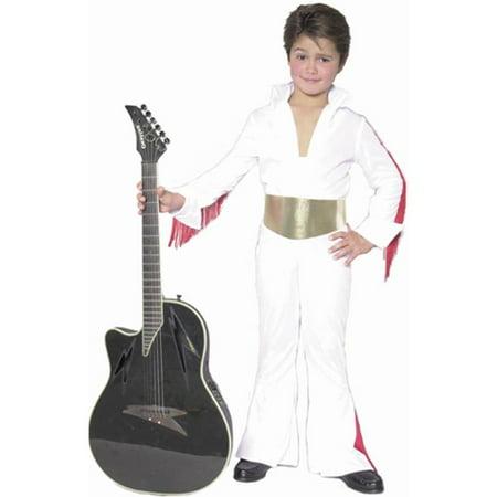 Child's Elvis Costume~Small 6-8 / White
