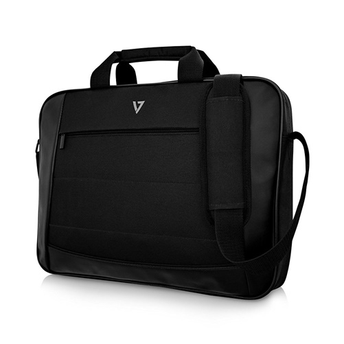 V7 CTK16-BLK-9N Essential Topload Laptop Carrying Case Black