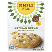 Simple Mills Artisan Bread Mix, 10.4 OZ (Pack of 6)