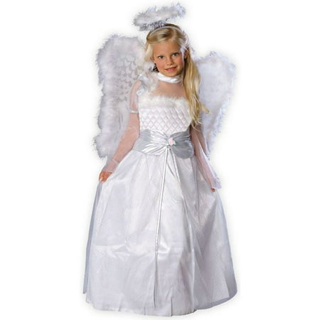 Rosebud Angel Child Costume - Cheap Easy Costumes