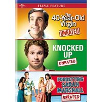40 YEAR OLD VIRGIN/KNOCKED UP/FORGETTING SARAH MARSHALL(DVD-NLA (DVD)