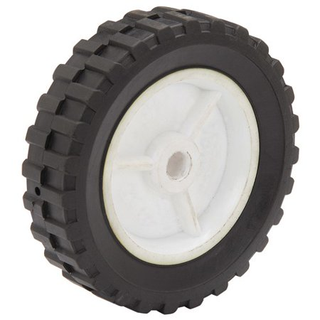 6 in. Semi-Solid Tire with Polypropylene Hub