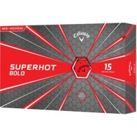 Deals on 15 Pack Callaway Golf Superhot Bold Matte Golf Balls
