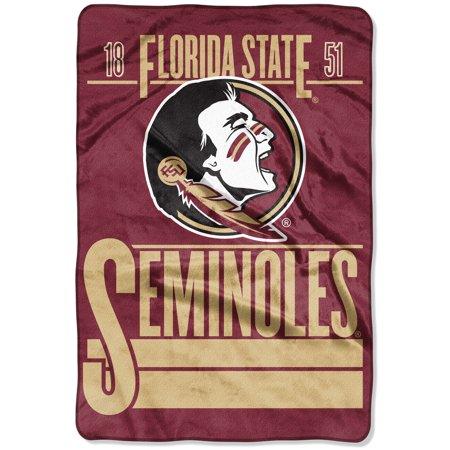 Florida State Seminoles The Northwest Company 60'' x 80'' Faculty Oversized Micro Raschel Throw Blanket - Garnet - OSFA Fleece Florida State Seminoles Blanket
