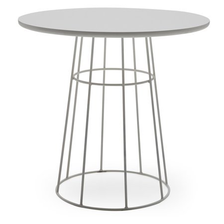MoDRN Scandinavian Kipper Round Cafe Table