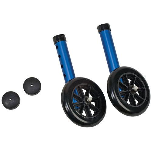 DMI Walker Wheels withGlide Cap Kits
