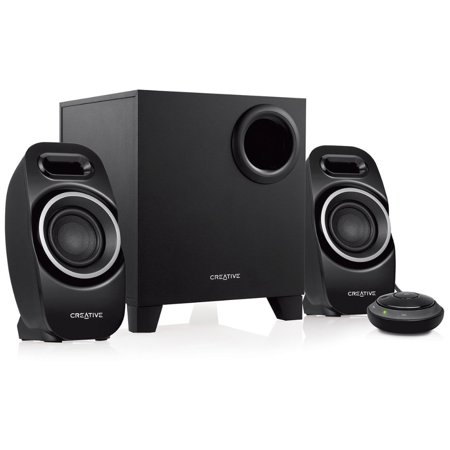 Refurbished Creative Labs T3250 Bluetooth Wireless 2.1 Speaker System w/Subwoofer & Control