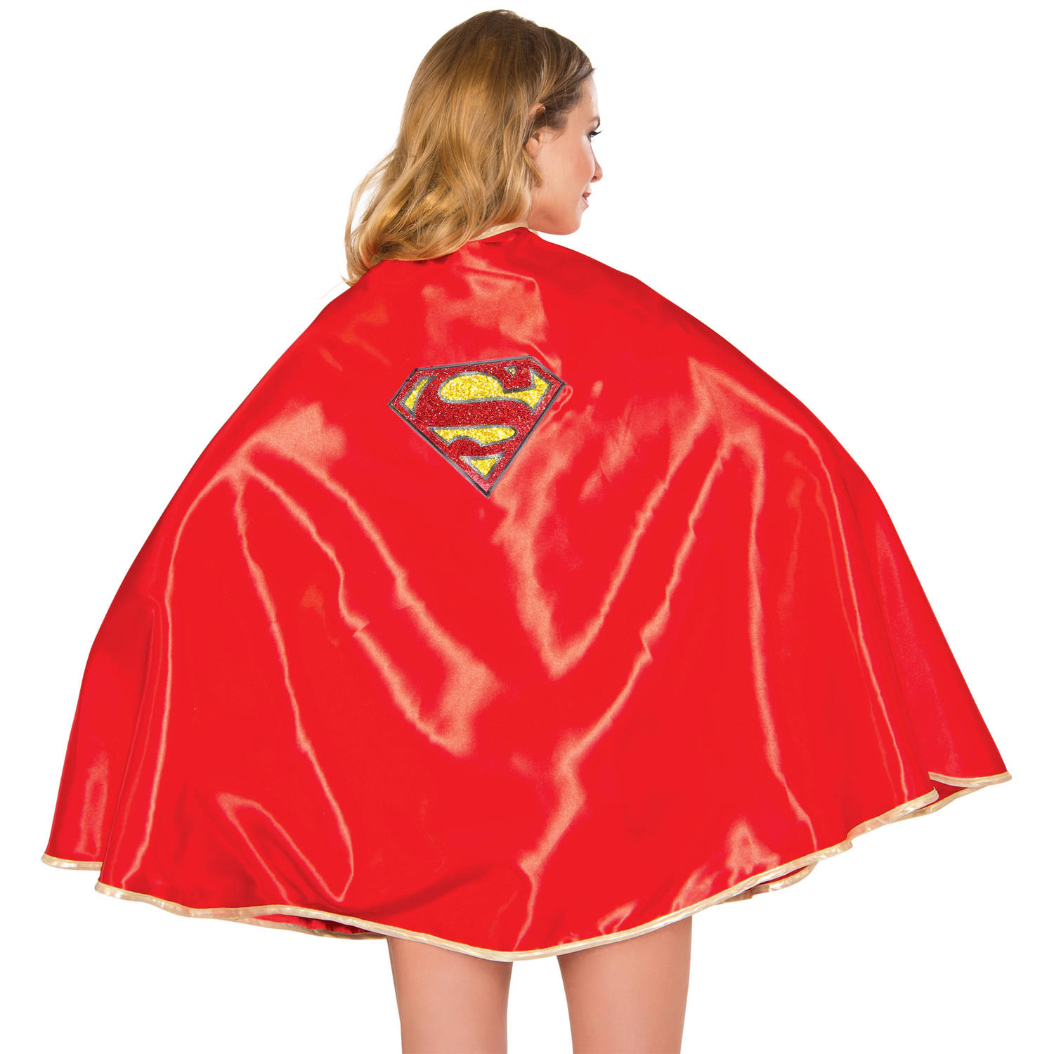"Supergirl Cape 30"" Adult Halloween Accessory"