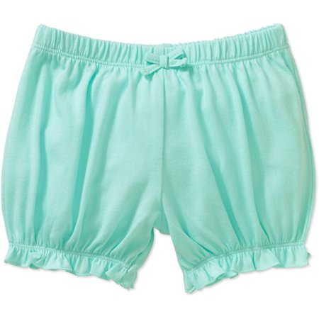Mineville Newborn Baby Girl Mix-n-Match Ruffle Hem Solid Bubble Shorts