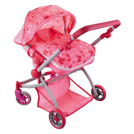 Modern Twin Doll Deluxe Babyboo Stroller  for 18 inch Dolls ()