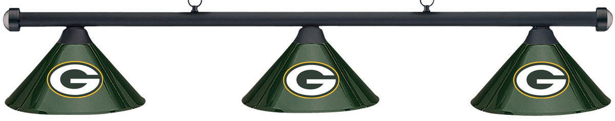 NFL Green Bay Packers Green Metal Shade U0026 Black Bar Billi.