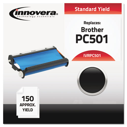 Compatible With Pc501 Thermal Transfer, 150 Page-Yield, Black