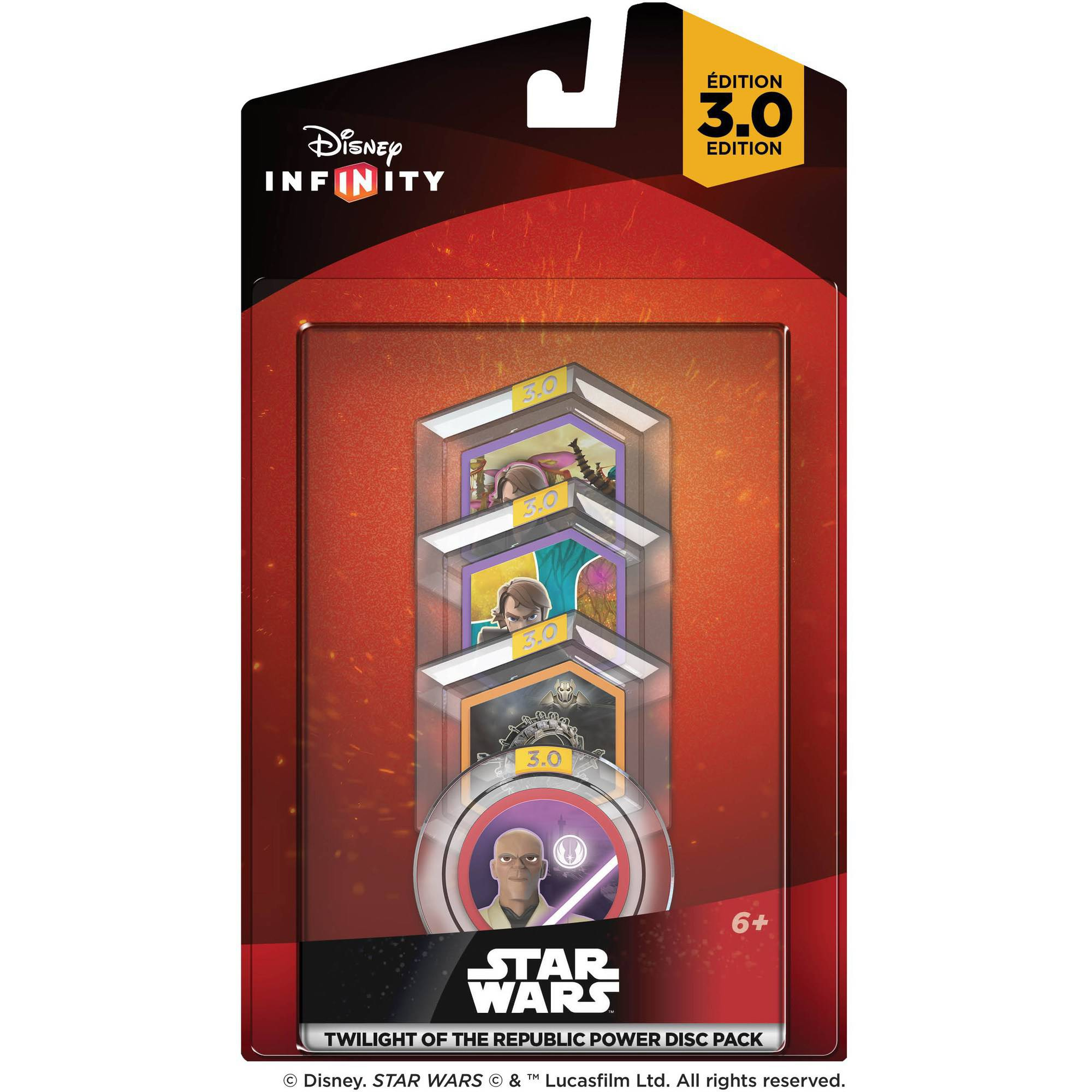 Disney Infinity 3.0 Star Wars Twilight of the Republic [Disc Pack] (Universal)