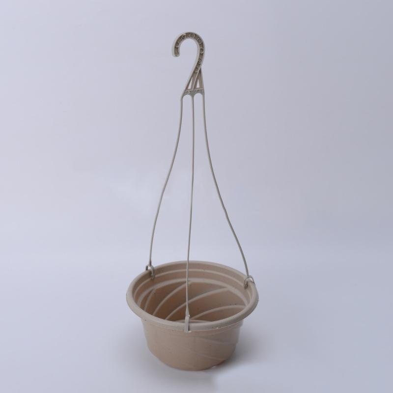 Home Garden Balcony Hook-type Hanging Flower Plant Pot Basket Planter Holder an