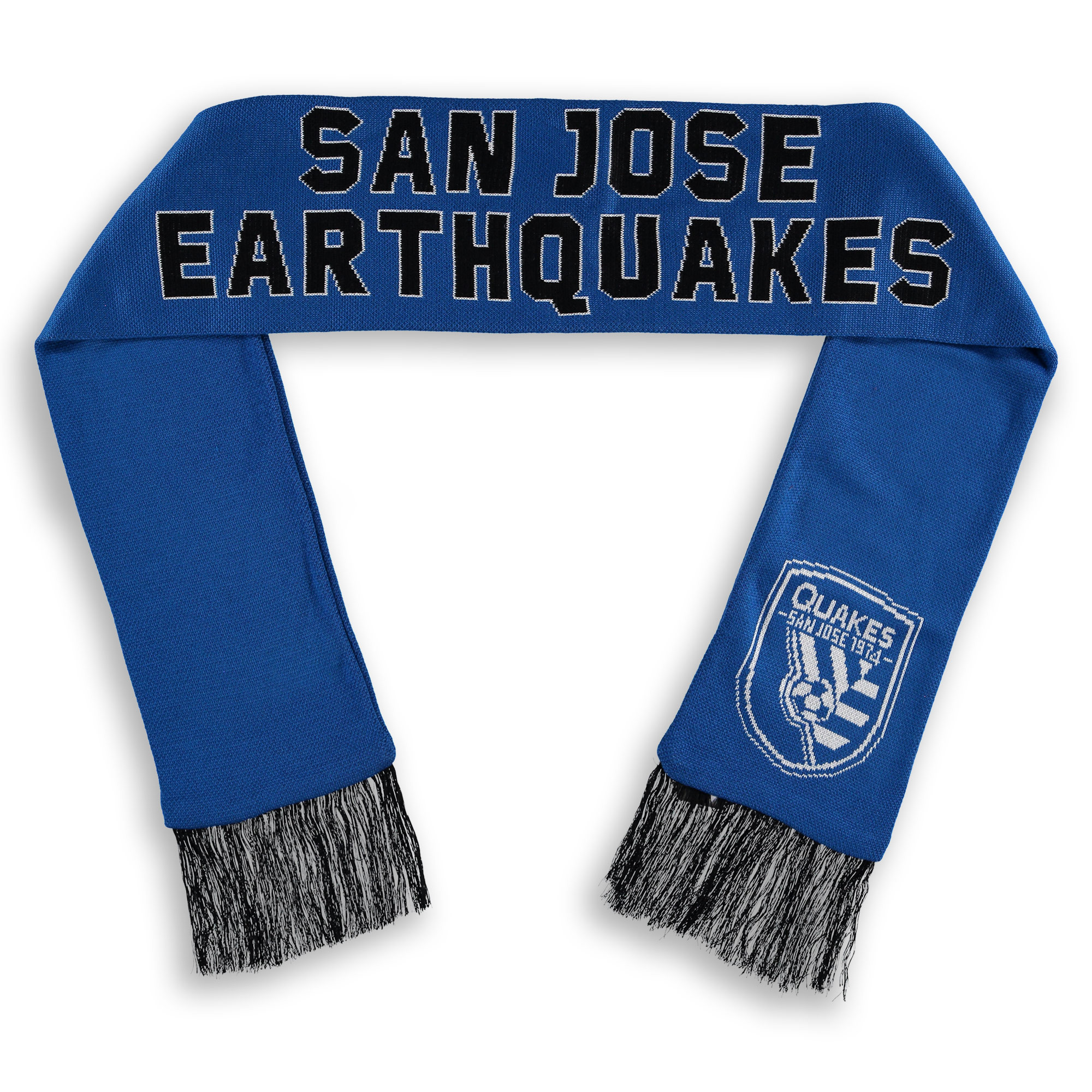 San Jose Earthquakes Fanatics Branded Core Scarf - Blue - OSFA