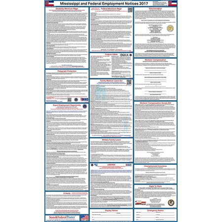 2017 Mississippi State and Federal Labor Law Poster