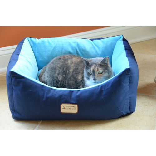 Armarkat Pet Bed 18-Inch Long C09HSL/TL, Blue